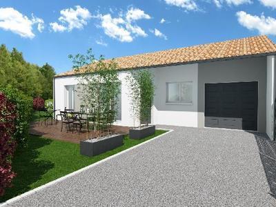 Maison neuve - Curzon (85540)