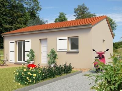 Maison neuve, 65 m² - Saint-Paul-des-Landes (15250)