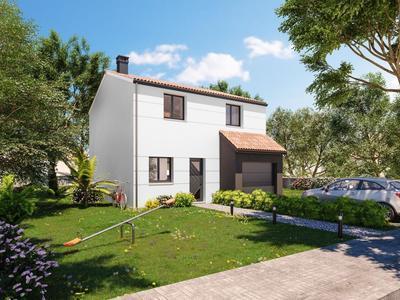 Maison neuve, 86 m² - Bouguenais (44340)