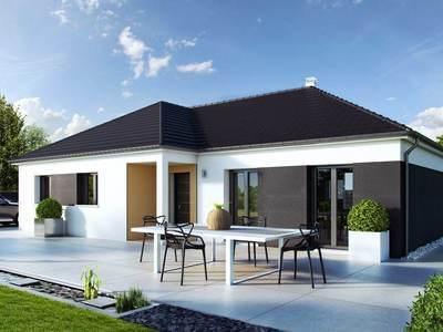 Maison neuve, 110 m² - Merceuil (21190)