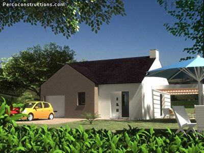 Maison neuve, 56,2 m²