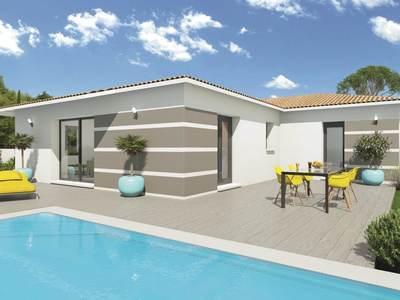 Maison neuve, 99 m² - Lagarde (65320)