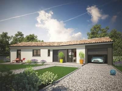 Maison neuve, 107 m² - Breuillet (17920)
