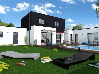 Maison neuve, 124 m² - Le Bouscat (33110)