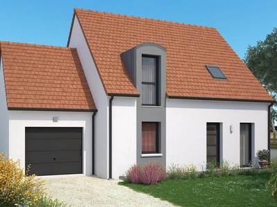 Maison neuve, 101 m² - Saint-Jean-de-Braye (45800)