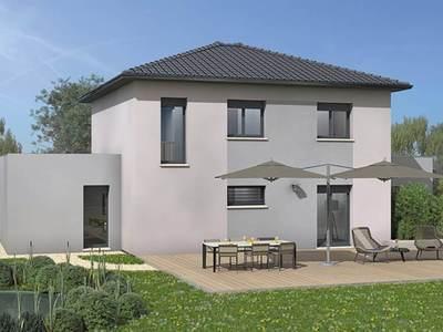 Maison neuve, 140 m² - Francheville (69340)
