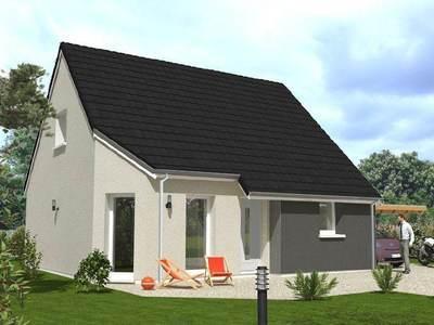 Maison neuve, 110 m² - Oulins (28260)