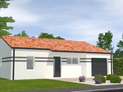 Maison neuve, 72 m² - Triaize (85580)