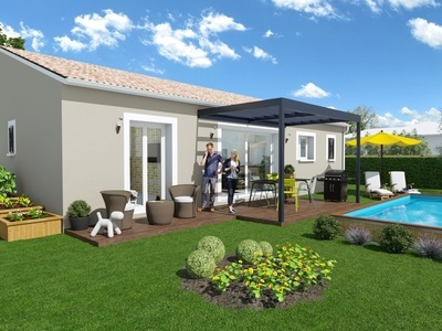 Maison neuve, 107 m² - Brens (81600)