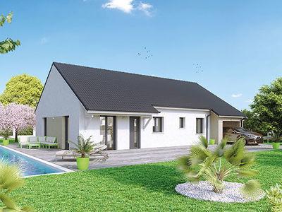 Maison neuve, 90 m² - Blanzy (71450)