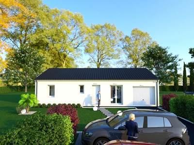 Maison neuve, 85 m² - Oradour-sur-Glane (87520)