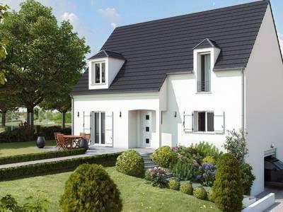Maison neuve, 94 m² - Neuilly-Saint-Front (02470)
