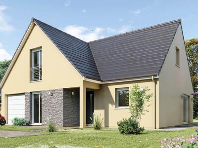 Maison neuve, 95 m² - Fussy (18110)