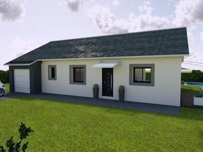 Maison de 90 m²