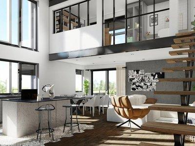 Appartement neuf, 135 m²