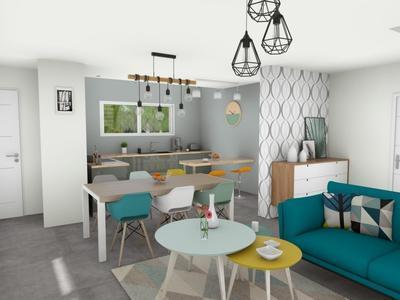 Maison neuve, 90 m² - Bouguenais (44340)