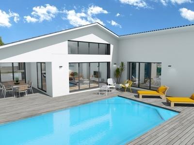 Maison neuve, 131,2 m² - Les Mathes (17570)