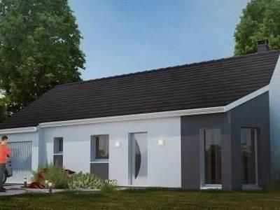 Maison neuve, 84,29 m²