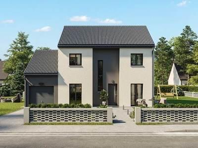 Maison neuve, 105 m² - Saint-Marcel (71380)