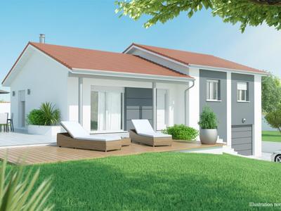 Maison neuve, 90 m² - Saint-Chamond (42400)