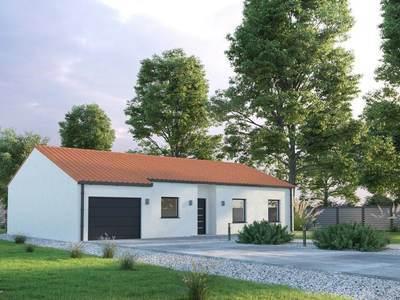 Maison neuve, 90 m² - Charron (17230)