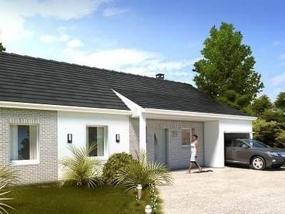 Maison neuve, 88,19 m²
