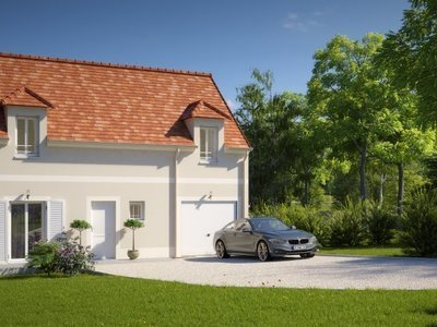 Maison neuve, 89 m² - Evreux (27000)