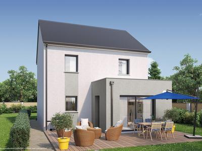 Maison neuve, 88 m² - Saint-Jean-de-Braye (45800)