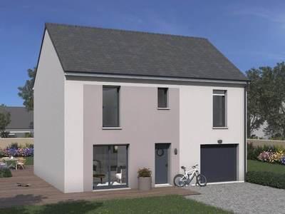 Maison neuve, 109 m² - Chilly-Mazarin (91380)