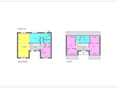 Maison neuve, 120 m² - Evreux (27000)
