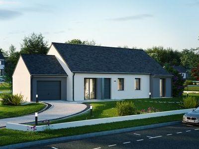 Maison neuve, 87,94 m² - Luant (36350)