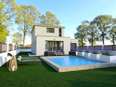 Maison neuve, 125 m² - Fabrègues (34690)