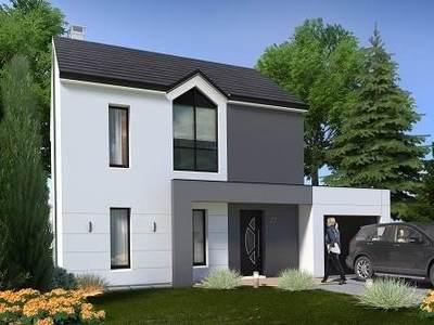 Maison neuve, 86,78 m²