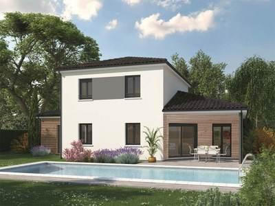 Maison neuve, 130 m² - Breuillet (17920)