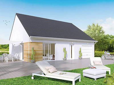 Maison neuve, 85 m² - Virey-le-Grand (71530)