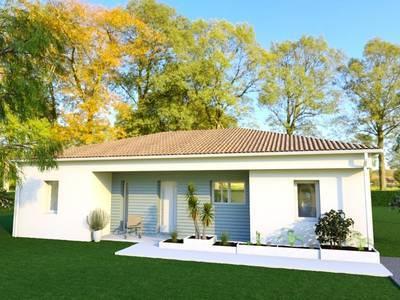 Maison neuve, 84 m² - Oradour-sur-Glane (87520)