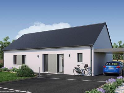 Maison neuve, 100 m² - Rouillon (72700)