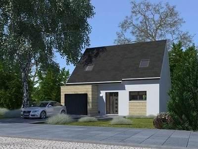 Maison neuve, 84,59 m²