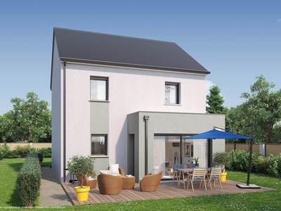 Maison neuve, 98 m² - Saint-Jean-de-Braye (45800)