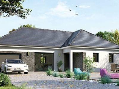 Maison neuve, 80 m² - Gisors (27140)