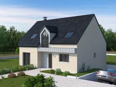 Maison neuve, 100,83 m² - Servigny (50200)