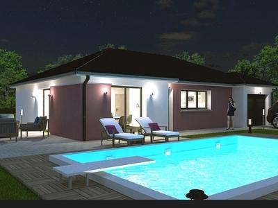 Maison neuve, 87,74 m²