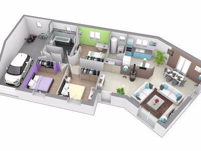 Maisons axial rive de gier maisons 224200 superimmoneuf for Garage lapeyre rive de gier