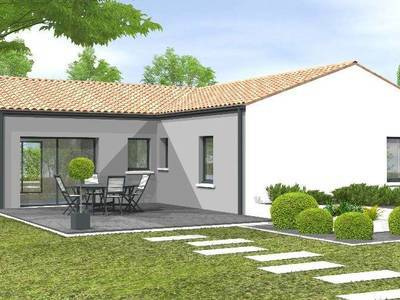 Maison neuve, 90 m² - Montournais (85700)