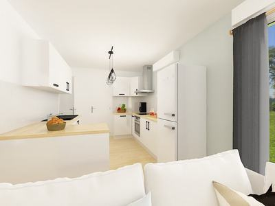 Maison neuve, 87,94 m² - Saint-Maur (36250)