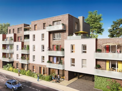 Programme Immobilier Neuf Faches Thumesnil 59155