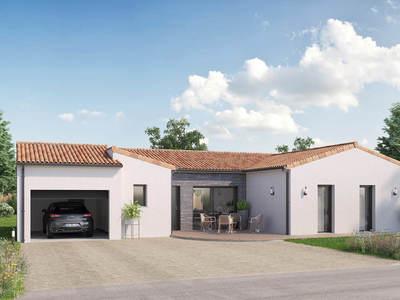 Maison neuve, 110 m² - Mauléon (79700)