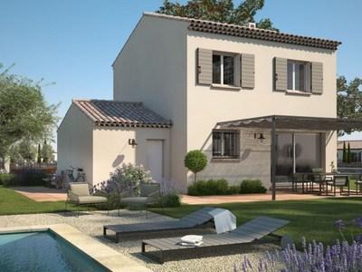 Maison neuve, 80 m² - Saint-Gilles (30800)