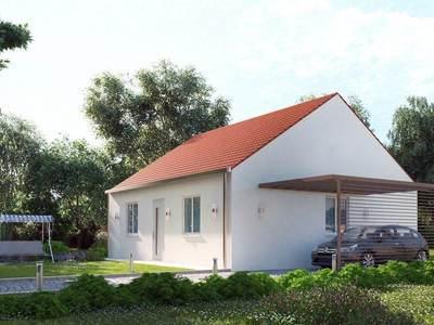 Maison neuve, 73 m² - Mortrée (61570)