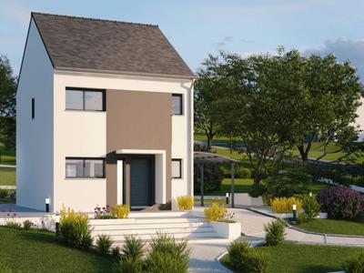 Maison neuve, 91 m² - Sainte-Luce-sur-Loire (44980)